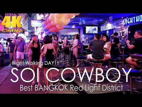 Soi Cowboy Bangkok 2019 | Walking Thailand Nightlife Red Light District Day 11