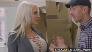 Brazzers – Brazzers Exxtra –  Life Assistant Doll scene starring Alicia Amira and Danny D